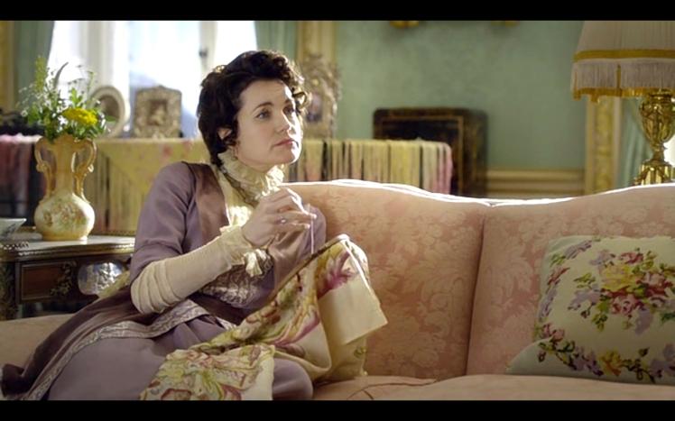 Downton Abbey cross stitch