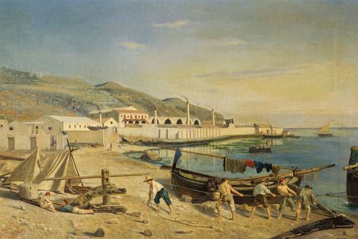 La tonnara di Favignana - Antonio Varni